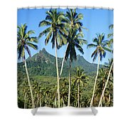 Cook Islands Shower Curtain