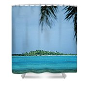 Cook Islands, Rarotonga Shower Curtain