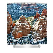 Cook Ovens Overlook Shower Curtain