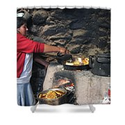Cook Shower Curtain