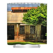 Cookhouse Theater Lahaina Shower Curtain