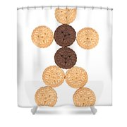 Cookie Man Shower Curtain