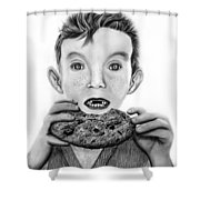 Cookie Surprise  Shower Curtain