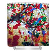 Cookies Mosaic Shower Curtain