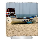 Cool Cape May Beach Shower Curtain