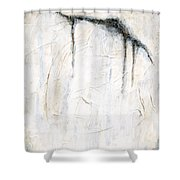 Cool Chills Abstract Shower Curtain