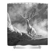 Cool Deer 2 Shower Curtain