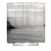Cool Horizon Shower Curtain
