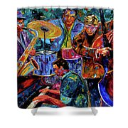 Cool Jazz Shower Curtain