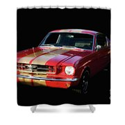 Cool Mustang Shower Curtain