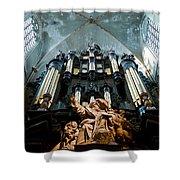 Cool Organ Shower Curtain