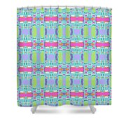 Cool Plaid No. 5 Shower Curtain