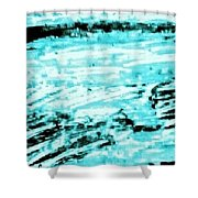 Cool Sea Shower Curtain