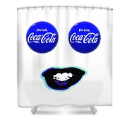 Cool Smile Shower Curtain