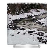 Cool Winding River Shower Curtain