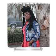 Cool With Braids 5 Shower Curtain