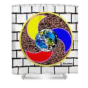 Coolearth Shower Curtain
