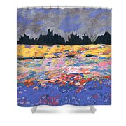 cooney sunset I Shower Curtain