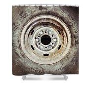 Cooper Discoverer Radial Lt Tire Shower Curtain