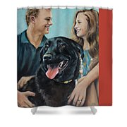 Cooper The Scottie Shower Curtain