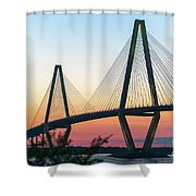 Cooper River Diamonds Shower Curtain