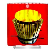 Cooperage 1 Shower Curtain by Eikoni Images