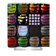Cooperage 3 Shower Curtain by Eikoni Images