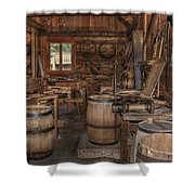 Cooperage Shower Curtain