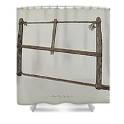 Coopersmith Saw Shower Curtain