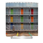 Coordinated Colors Shower Curtain