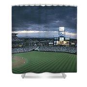 Coors Field, Denver, Colorado Shower Curtain