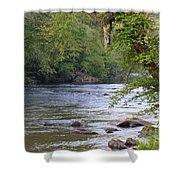 Coosawattee River Shower Curtain