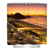 Copacabana Shower Curtain