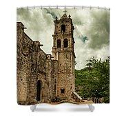 Copala Church Shower Curtain