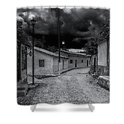 Copala Cobblestone Street Shower Curtain