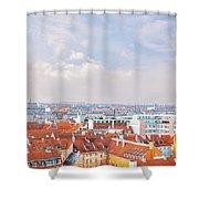 Copenhagen City Denmark Shower Curtain