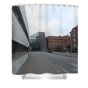 Copenhagen Old And New Shower Curtain