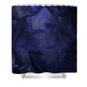 Copious Blue Shower Curtain
