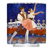 Coppelia Shower Curtain
