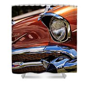 Copper 1957 Chevy Bel Air Shower Curtain