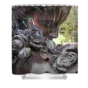 Copper Angel Shower Curtain