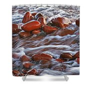 Copper Country Beach Shower Curtain