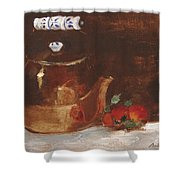 Copper Kettle Shower Curtain