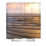 Copper Shores Shower Curtain