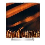 Copper Wirework. Shower Curtain