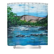 Coppins Crossing, Act, Australia Shower Curtain
