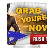 Copula Testosterone Boost Shower Curtain