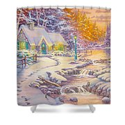 copy of Evening Glow Shower Curtain