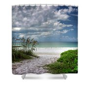 Coquina Beach-bradenton Florida Shower Curtain