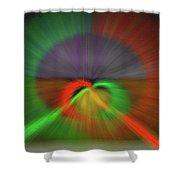 Cor Caritate Shower Curtain